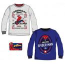 mayorista Artículos con licencia: Camiseta de manga larga para niños Spiderman 3-8 a