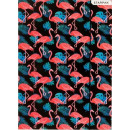 Flamingo A / 4 rubber folder