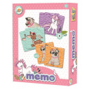 wholesale Parlor Games: Animal memory game with 48 pieces