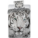 Tiger bed sheets 140 × 200cm, 70 × 90 cm