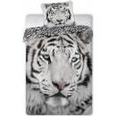 Draps de lit tigre 140 × 200 cm, 70 × 90 cm