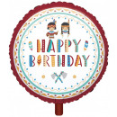 Tepee and Tomahawk Foil Balloons 43 cm