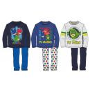 Children long pyjamas PJ Masks, Pizsihősök 3-8 yea