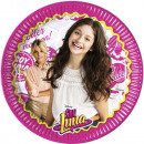 Disney Soy Luna Paper Drum 8 pcs 23 cm