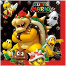Super Mario Serviette 20 PC