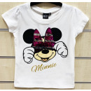 DisneyMinnie sequined kids short t-shirt, top