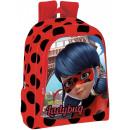 Borsa da scuola, borsa Miraculous Ladybugs 3D 43cm