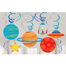 Space, Space Ribbon Decoration 12 Piece Set