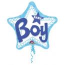 Baby Boy Fólia lufi 81 cm