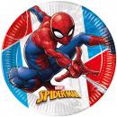 Spiderman,Pókember komposztálható papírtányér