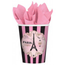 Paris, Paris paper cup 8 pcs 266 ml