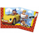 Noddy napkin with 20 pcs