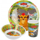 Kitchen set, melamine set Disney The Lion Guard