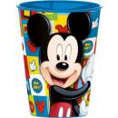 Disney Mickey glass, plastic 260 ml