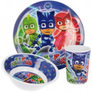 wholesale Houshold & Kitchen: Kitchenware, Melamine Set PJ Masks, Pisniers
