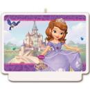 groothandel Kaarsen & standaards: Disney Sofia, Sofia cake kaars