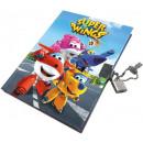 Memory Book, Locksmith Journal Super Wings
