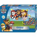 Paw Patrol Doppelseitiges Puzzle 50 Teile