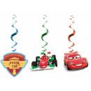 DisneyCars , Verdai Ribbon decoration 3 pcs set