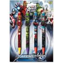 Pen set of 4 pieces Avengers , Avengers