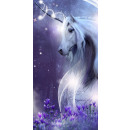 Unicorn, Unikornis bath towel, beach towel