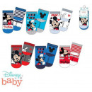 mayorista Artículos con licencia: DisneyMickey calcetines de bebé 0-12 meses