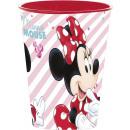 DisneyMinnie glass, plastic 260 ml