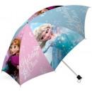 Kids folding umbrella Disney frozen