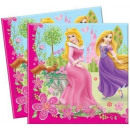 wholesale Party Items: DisneyPrincess , Princesses napkin 20 pcs 33x33