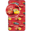 Fitted Sheet Disney Cars, Green 90 * 200 cm