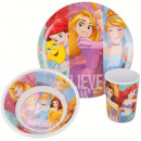 Kitchenware, melamine set Disney Princess , Prince