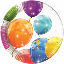 wholesale Gifts & Stationery: Lufis Paper Plate 8 pcs 19.5 cm