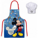 DisneyMickey Children's apron 2-piece set