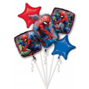 Spiderman , Spiderman Foil Balloons Set of 5