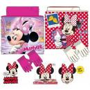sciarpa dei bambini, snood + guanto Disney Minnie