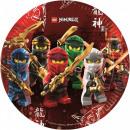LEGO Ninjago Paper Plate 8 pcs 23 cm