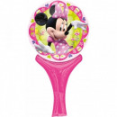 grossiste Autre: Disney Minnie main ballons feuille