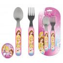 Couverts de table - 2 pièces Disney Princesse