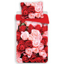 Roses bedding cover 140 × 200cm, 70 × 90 cm microf