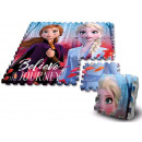 wholesale Toys: Disney Ice magic sponge puzzle mat 9 pcs