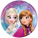 Disney Frozen, Jégvarázs Papírtányér 8 db-os 19,5