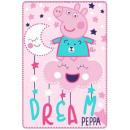 Großhandel Lizenzartikel: Peppa Schweinevlies Bettdecke 100 * ...
