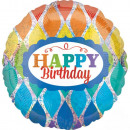 mayorista Regalos y papeleria: Happy Birthday foil globo 43 cm