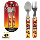 Cutlery set -2 pieces Disney The Incredible