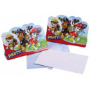Paw Patrol , Mancs Patrol Party Invitation 8 pcs