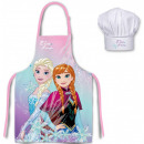 Kid's Apron with 2 Pieces Set for Disney Ice C