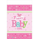 Welcome Baby party Tablecloth 138 * 259 cm