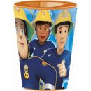 Sam a tűzoltó pohár, műanyag 260 ml