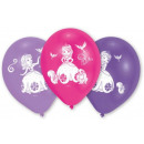Disney Sofia , globos, globos Sofía 10 piezas