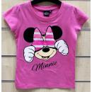 DisneyMinnie sequined kids short t-shirt, top